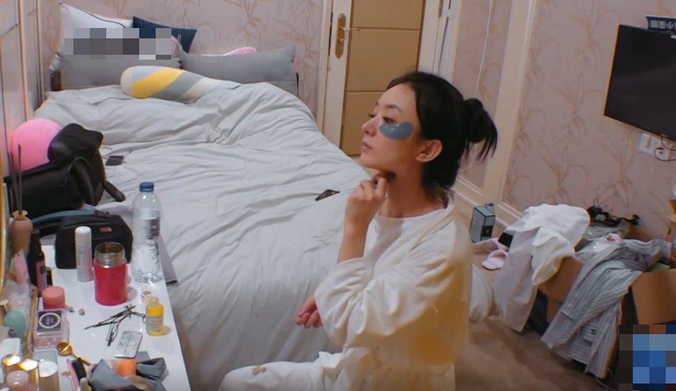 睫毛还|赵丽颖为什么状态那么好?看完《中餐厅》早起画面,答案很明显了