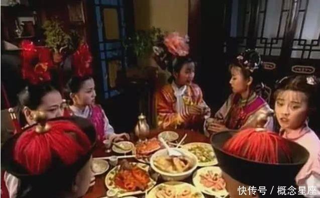饭菜|还珠格格饭菜是假的,家有儿女也是假的,这部剧虽剧组穷,但饭菜是真的