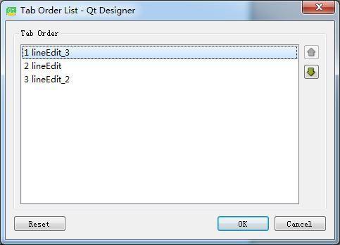 「PyQt5」PyQt5学习记录:设置控件tab顺序