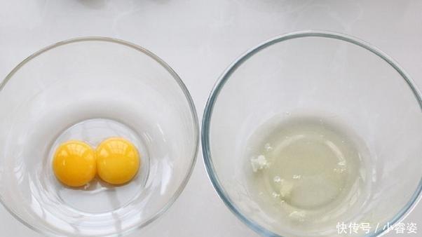 蛋黄|一款低脂蛋糕教程,不用油口感更细腻,午茶早餐的首选