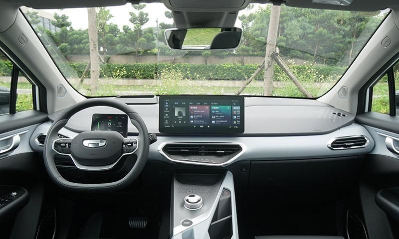 电动汽车 犹豫不决就选C 试驾几何C纯电动SUV