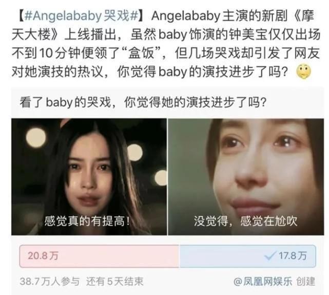 Baby|Baby演技再创巅峰,全网零差评,网友:这次真值8000万!